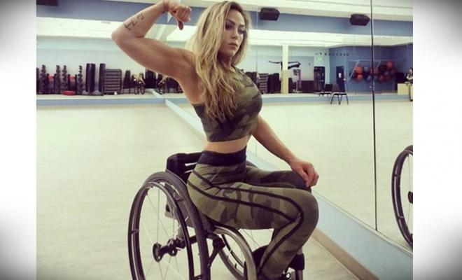 Tekerlekli Sandalyedeki Güzel: Tiphany Adams