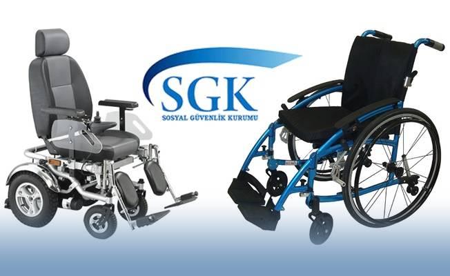 Akülü Tekerlekli Sandalye için SGK Ödemeleri