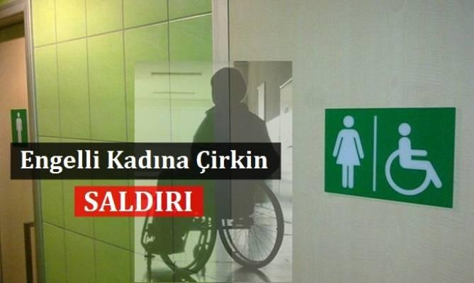 Engelli Kadına AVM Tuvaletinde Tecavüz