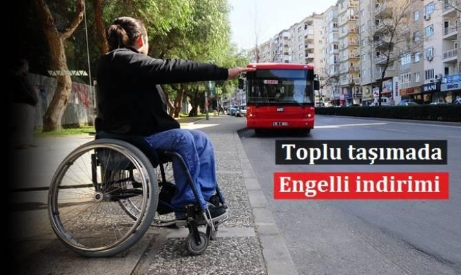 Toplu Taşıma Araçlarında Engelli İndirimi
