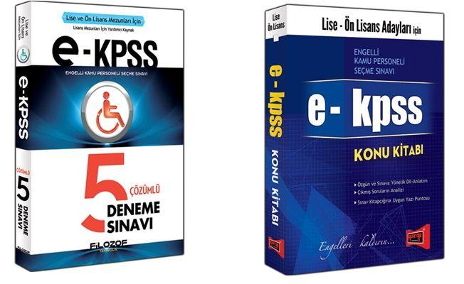 2018 EKPSS Hazırlık kitapları