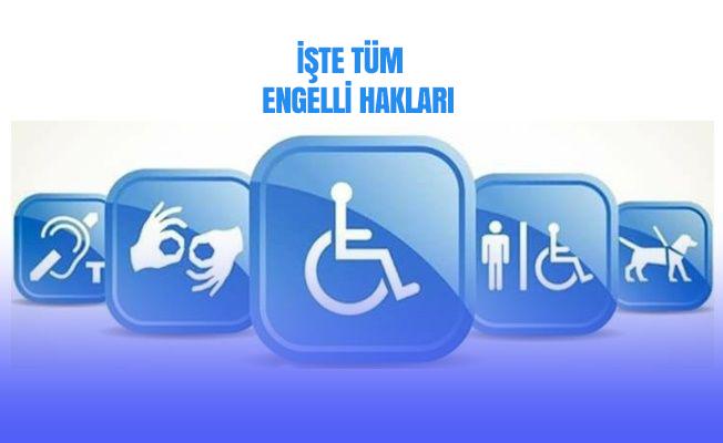 Engelli hakları nelerdir?