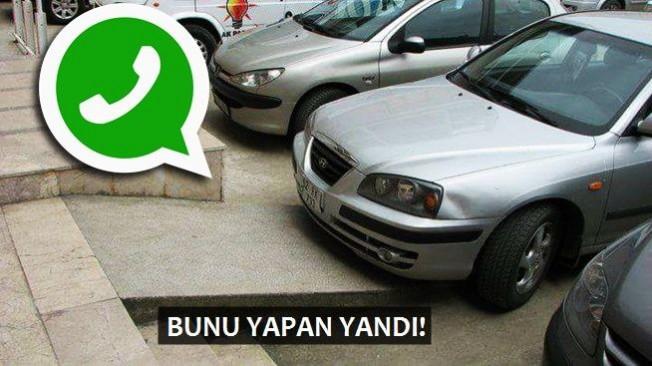 Engelli rampasına park edenler Whatsapp'tan ihbar edilecek