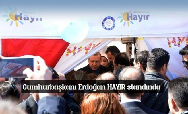 Erdoğan Hayır Çadırını Ziyaret Etti