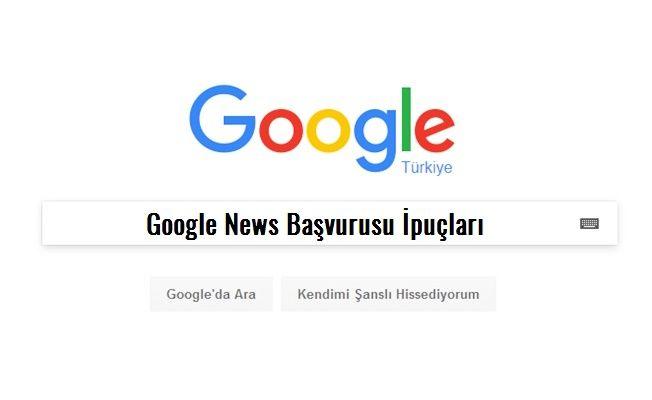 4 Adımda Google News kaydı