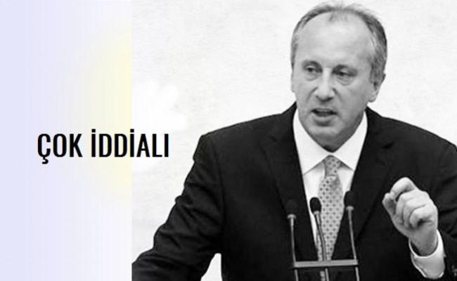 CHP'li Muharrem İnce'den Açıklama