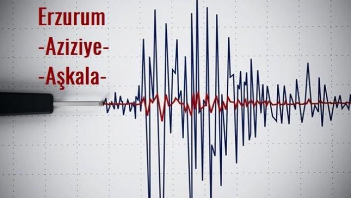 Erzurum Aziziye ve Aşkale'de Deprem