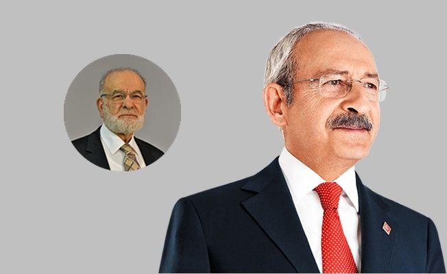 Kemal Kılıçdaroğlu'ndan Saadet Partisi Ziyareti