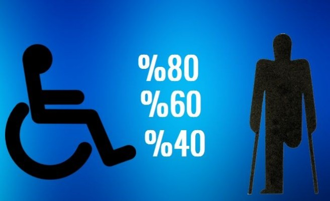 Rapor oranı yüksek olan engelli erken emekli olur