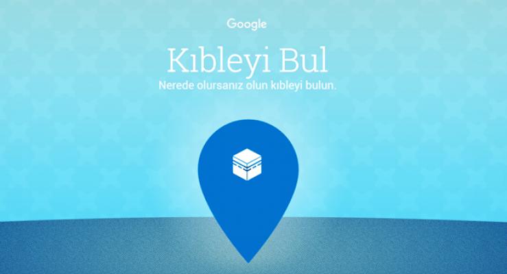 Google Kıble Bulma Hizmetini Devreye Soktu