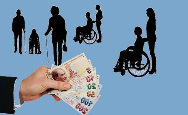 Engelli Maaşlarına 2017 Zammı