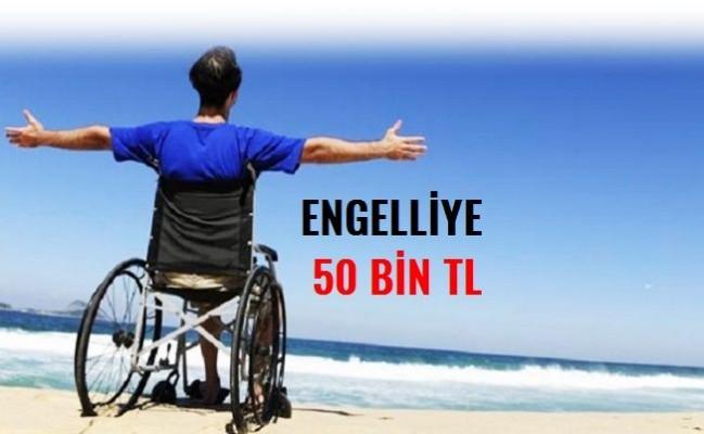 İŞKUR'dan engellilere 50 bin TL hibe