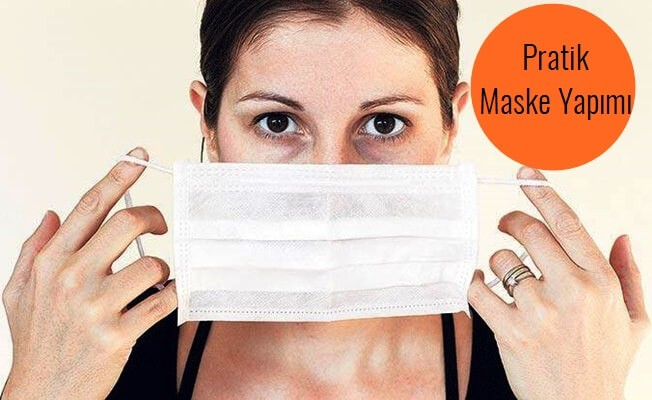 Evde maske nasıl yapılır? Videolu Anlatım