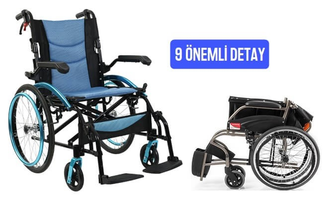 Tekerlekli Sandalye Alırken Dikkat Edilmesi Gereken 9 Detay