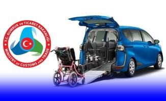 Engelliler ithal araçları çok daha kolay alacak