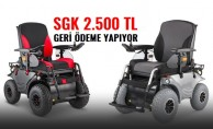 SGK Akülü sandalyeler için 2.500 TL'ye kadar geri ödeme yapıyor