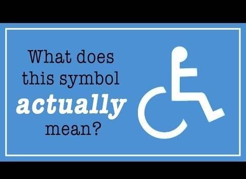 Engelli sembolünün aslında ne anlama geldiğini biliyor musunuz?