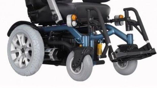 Engel tanımayan akülü sandalye